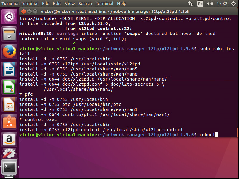 Configure VPN Linux Ubuntu